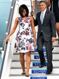 First Lady Michelle Obama & President Obama